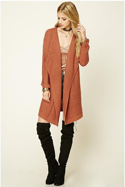 forever-purl-knit-drape-cardigan