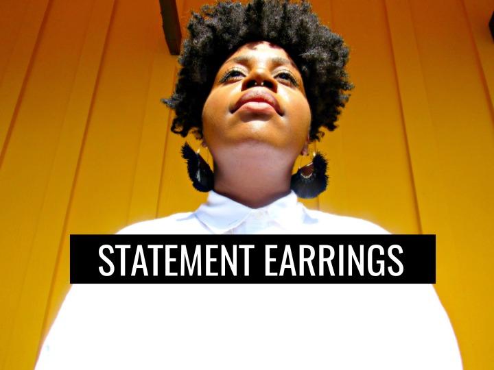 My Favorite Statement Earrings of theSeason
