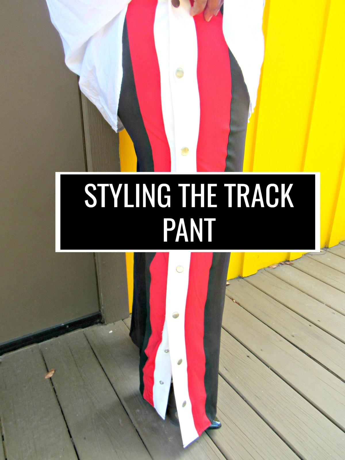 Styling the Track Pant