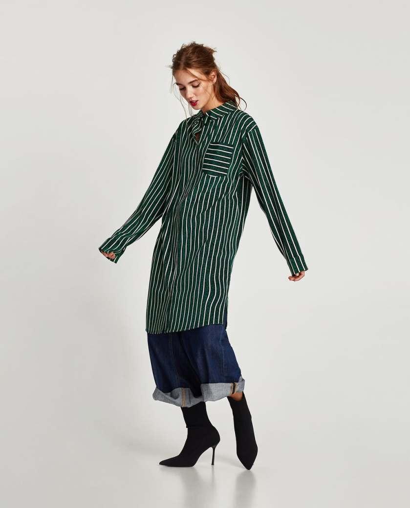 zara_striped_shirt_dress_with_shimmer