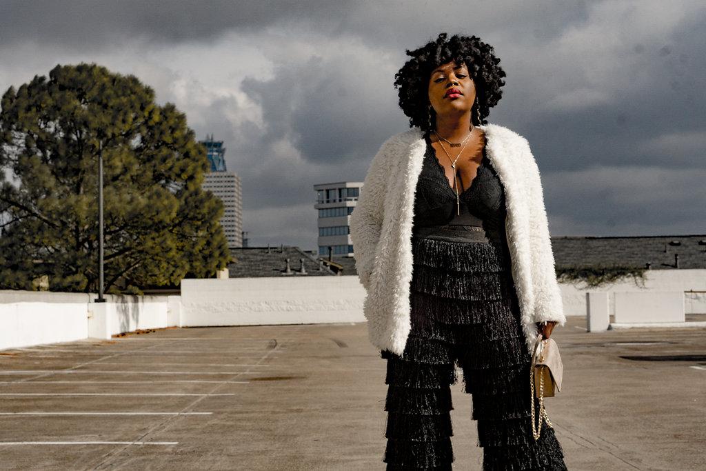 O-P-U-L-E-N-C-E | Statement Furs +Fringe